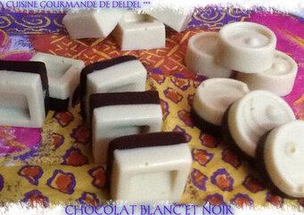 CHOCOLAT BLANC ET NOIR
