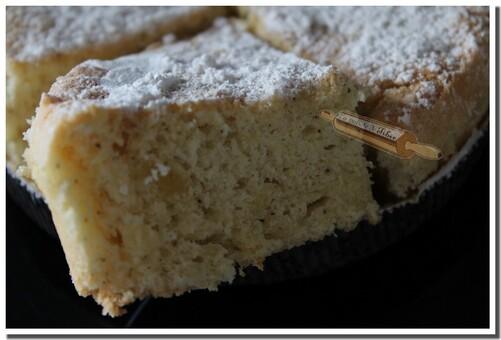Un nuage de gourmandise (Gâteau Lorrain)