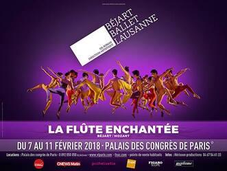Béjart Ballet Lausanne, Palais des Congrès, La flûte enchantée