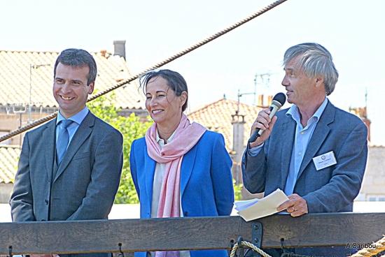 Hervé Blanché, Ségolène Royal, Benedict Donnelly