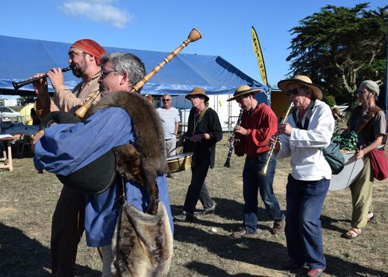 La Banda Tchok à Mousterlin