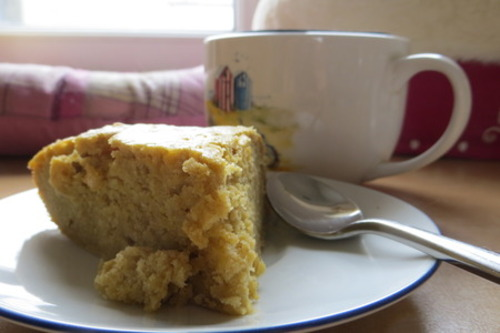 Un gâteau très fondant et...
