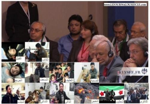 L'Elysée supprime la vidéo de la conférence sur la Syrie. Dans le but de cacher quelque chose ?