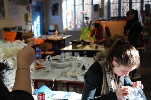 Atelier avec Elise Vigneron