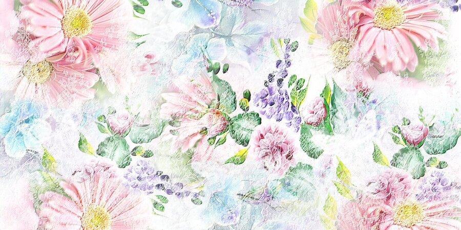 Grandes textures couleurs printemps 2