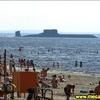 Scène en Russie- un sous-marin de classe Typhoon part en mission