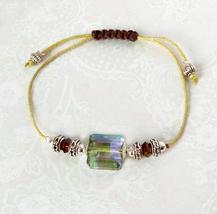 Bracelet Cristal / Macramé