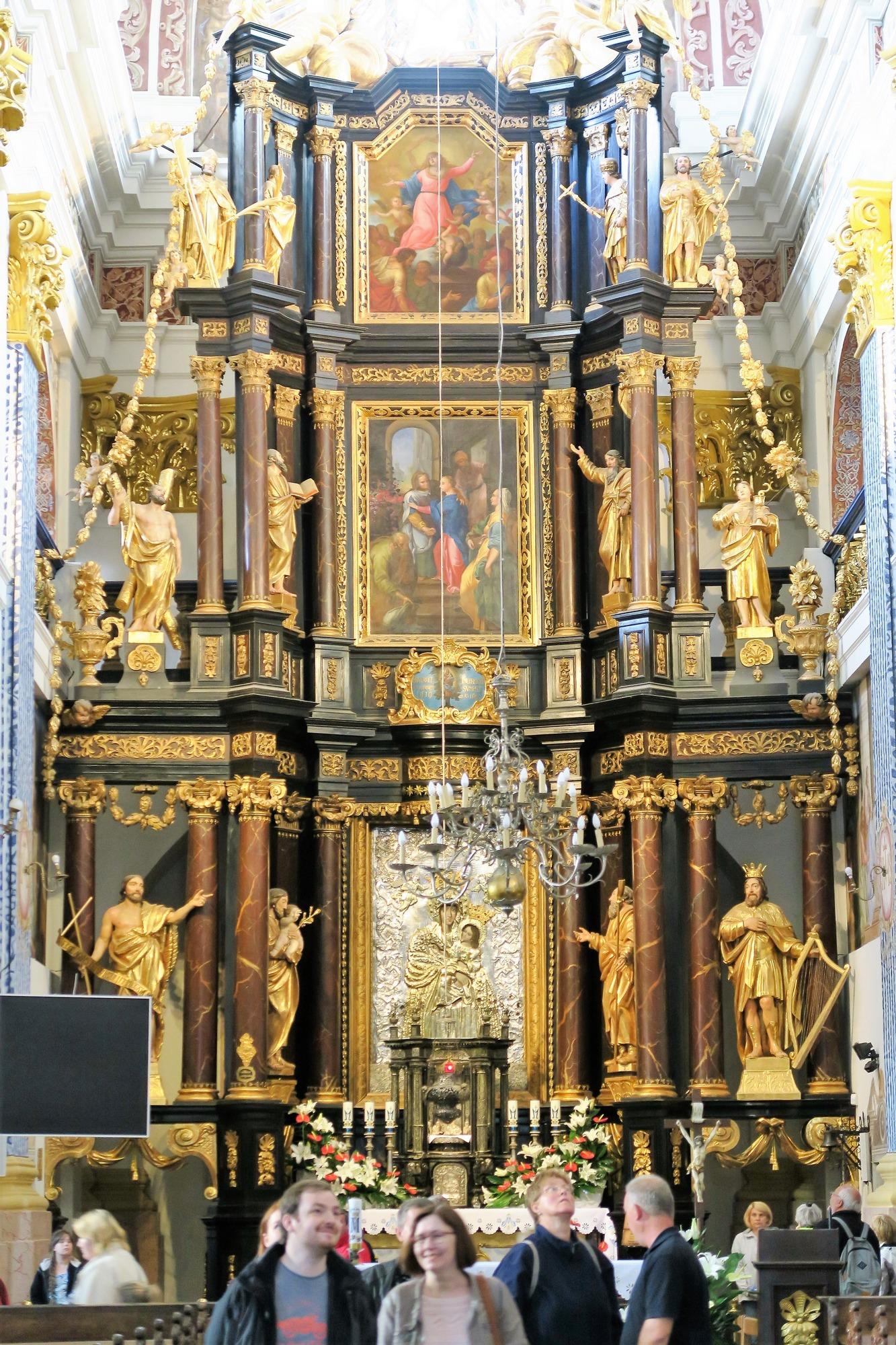 ŚWIĘTA LIPKA (Pl) L'Eglise