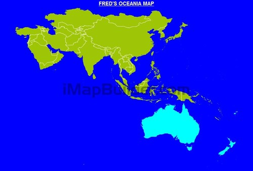 FRED'S OCEANIA MAP