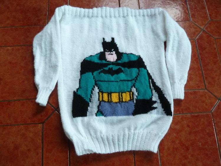 Batman  côté dos