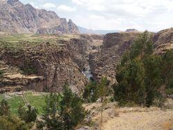 Sur la route pour Arequipa