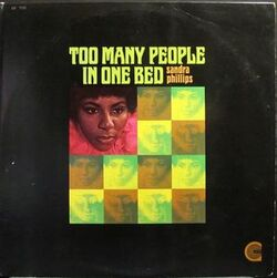 Sandra Phillips - Two Many People In One Bed - Complete LP