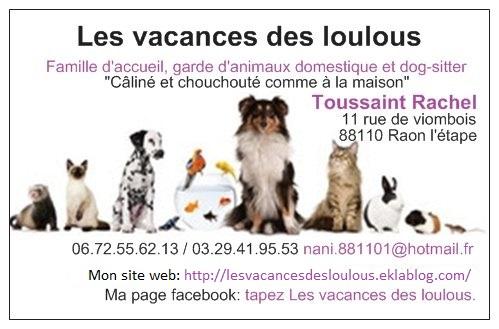 Descriptif Du Sjour Chez Les Vacances Des Louloustoussaint Rachel