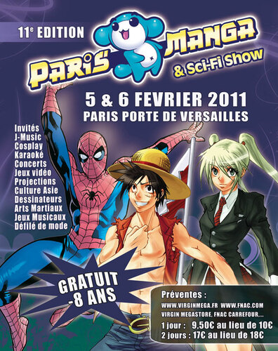Paris Manga 2011