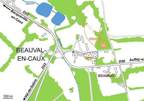 LES REMPARTS DE BEAUVAL-EN-CAUX (Seine-Maritime)
