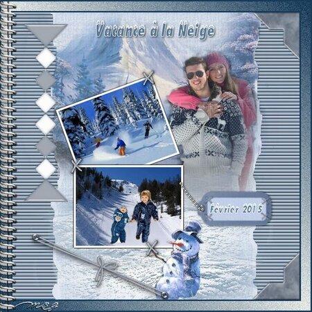 Vacance à la neige