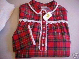 Flanelle plaid rouge