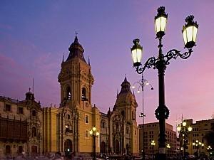 Cathedrale Plaza de Armas - Lima, Perou