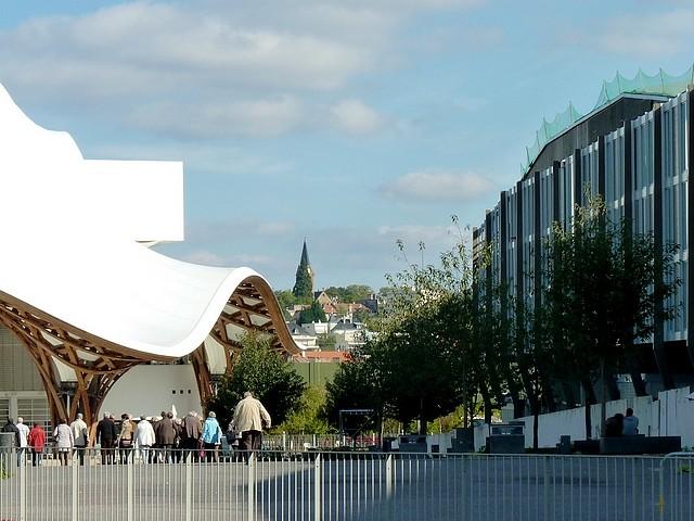 Les passages de la gare de Metz 1 Marc de Metz 30 10 2012