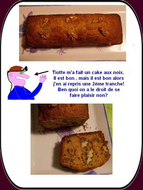 le gâteau aux noix de Tiotte