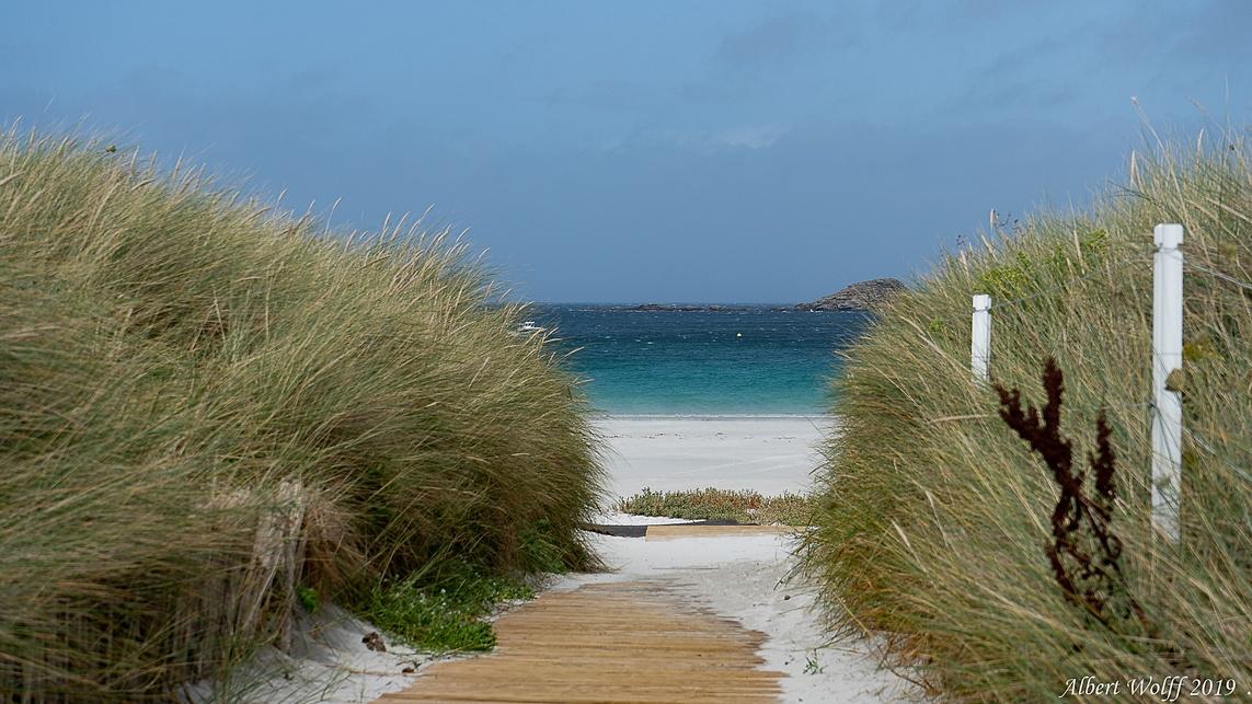 Finistère 2019 : le sable de Tréompan (1)