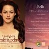 Carte BD 1 Bella Cullen