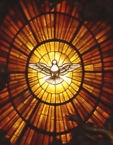 Vie désormais de l'Esprit Saint !