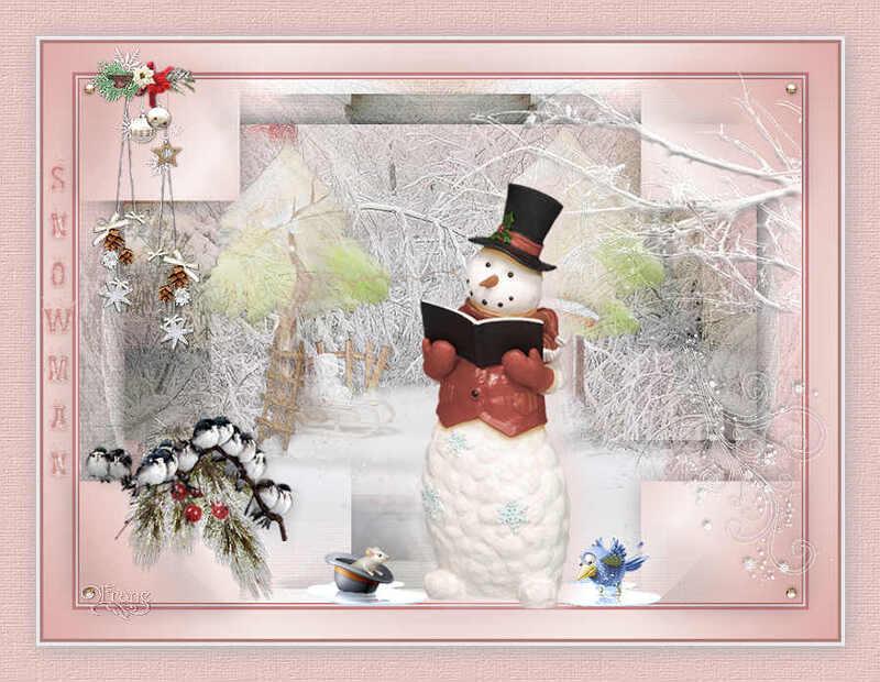 SNOWMAN : Tutoriel PSP 12-2015