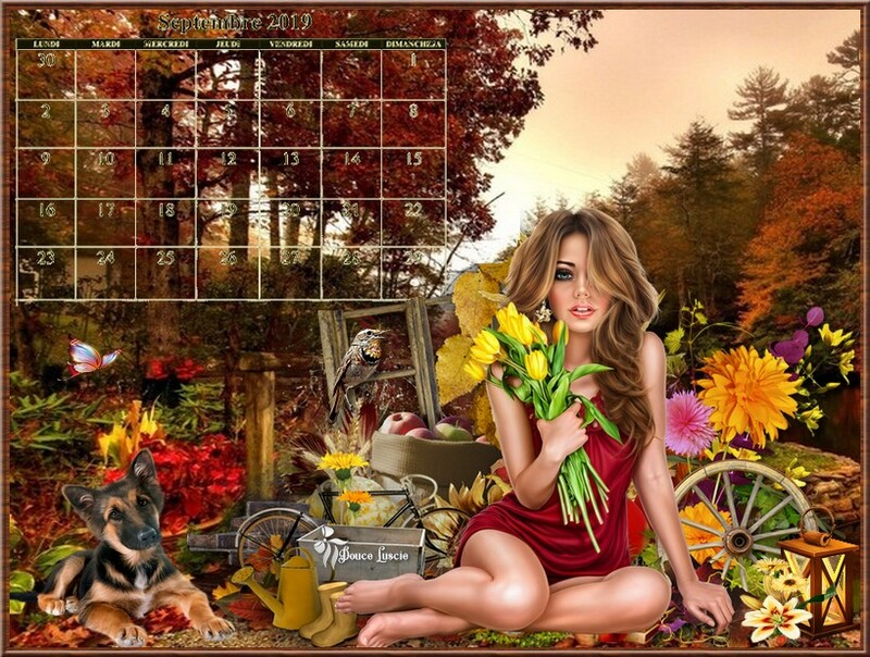 CALENDRIER AUTOMNE