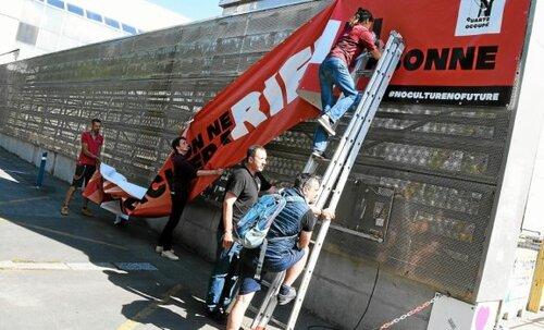 À Brest, la fin de l'occupation du Quartz mais « la lutte continue » ( LT.fr - 23/01/21 - 13h03 )