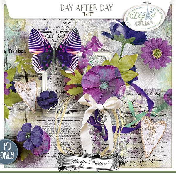 Day After Day { Kit PU } by Florju Designs