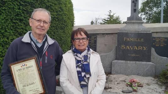 * 18 juin 2019 : une rue Albert SAVARY (Compagnon de la Libération, 1ère Cie de Chars, BIMP) inaugurée au Faoüet