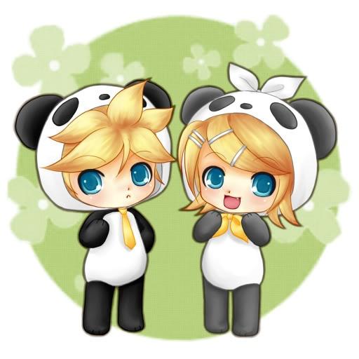 Dessin Kawaii Fille Panda
