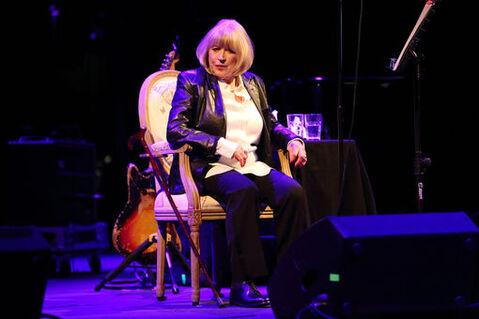 Marianne Faithfull en concert à  Roundhouse à Londres