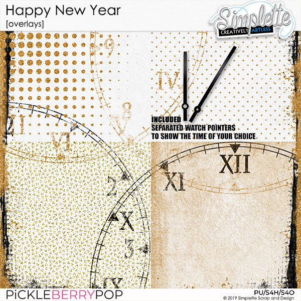 31 decembre : HAPPY NEW YEAR Simpl590