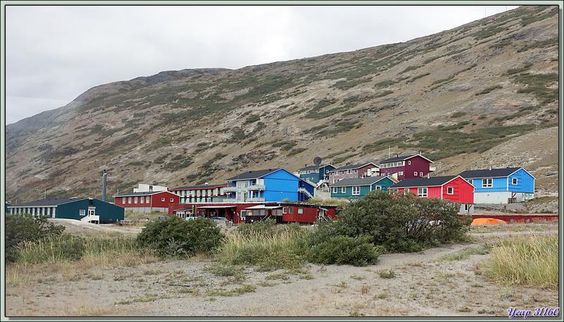 En passant dans Kangerlussuaq : vues du camion polaire - Groenland