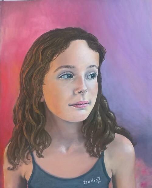 """Portrait nommé """"Tournée vers l'avenir"""""""