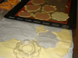 recette pizzette aux deux chocolats