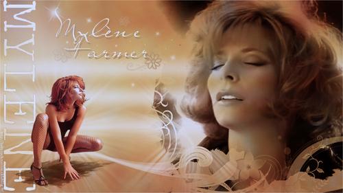 Fond Mylène Farmer