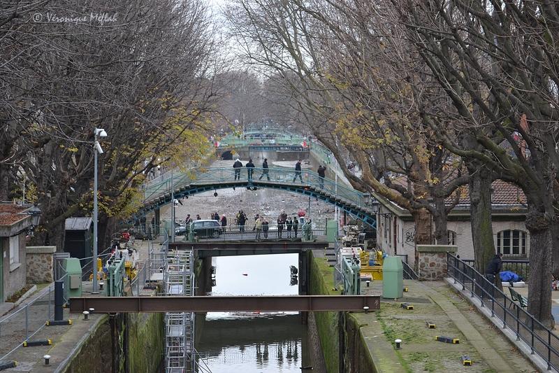 Programme de l'entretien du Canal Saint-Martin