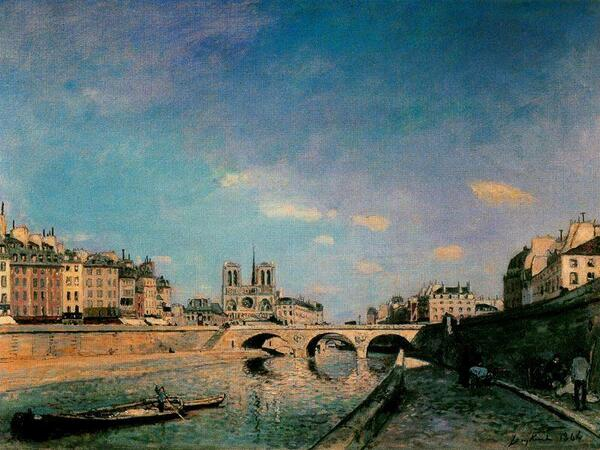 Johan-Barthold-Jongkind-The-Seine-and-Notre-Dame-de-Paris wahooart