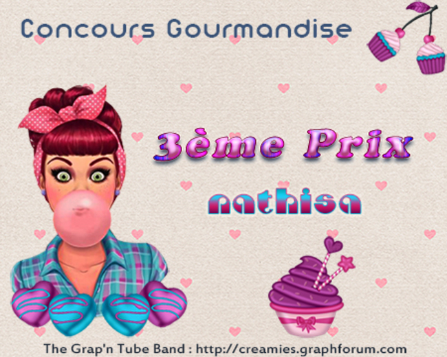 Concours Gourmandise