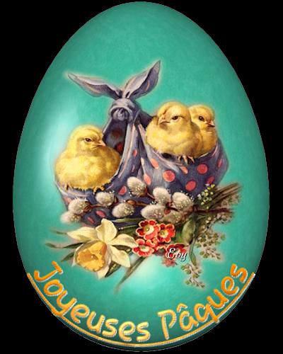 coucou de Pâques