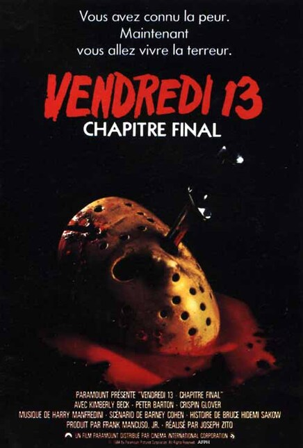 VENDREDI 13 CHAPITRE FINAL BOX OFFICE 1984