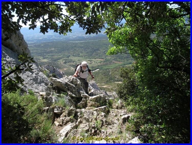 Sainte Victoire, le Garagaï et le pas du Clapier