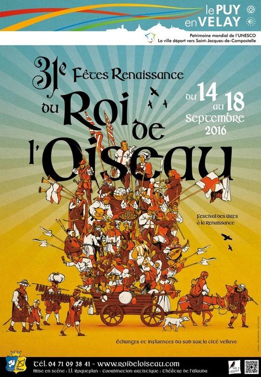 FÊTE DU ROI DE L'OISEAU 2016 PUY EN VELAY