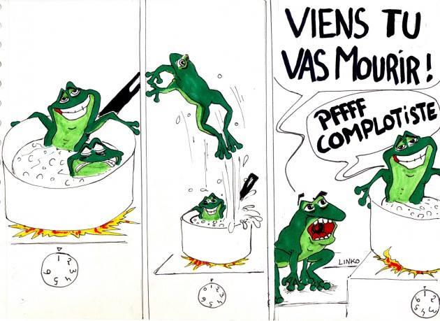 ☯ Bande de grenouilles...