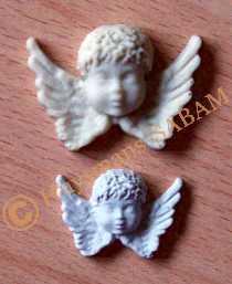 anges en platre coulés dans un moule en silicone - Arts et sculpture: sculpteur designer
