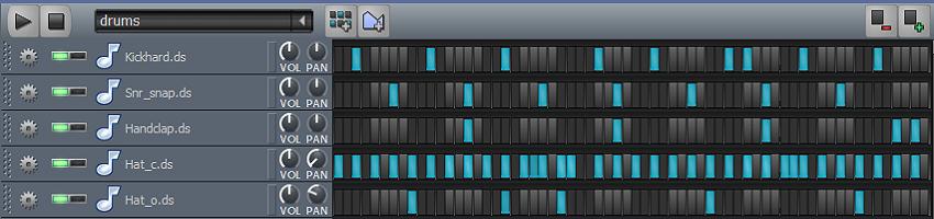 ReOald - Intrumental - drumkit steps