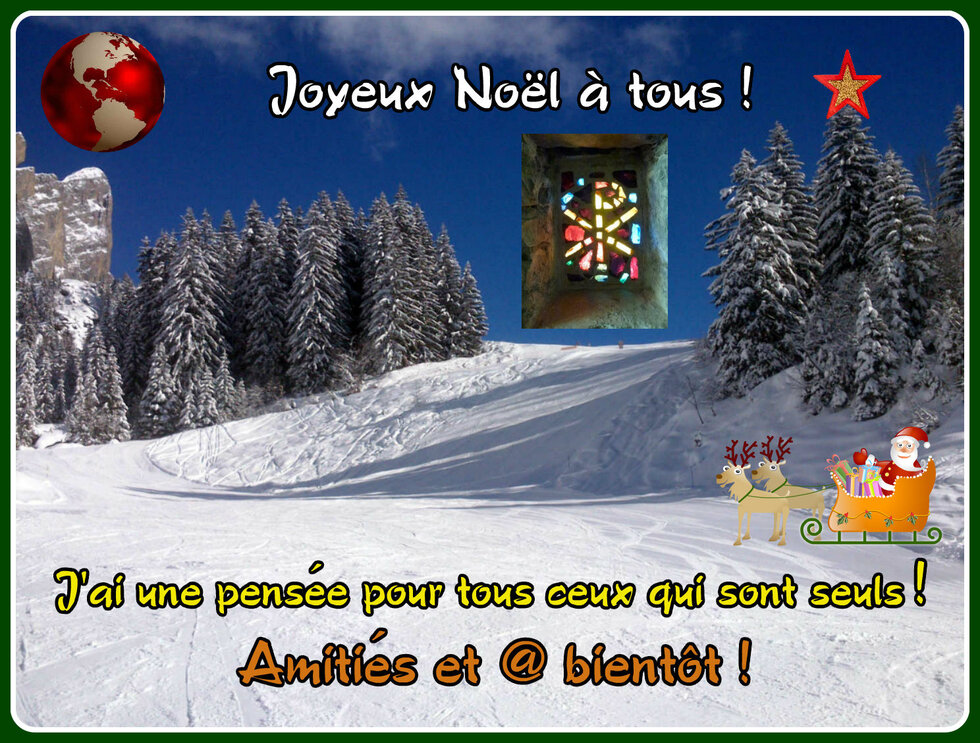 Bonnes fêtes de Noël !